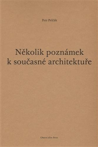 Několik poznámek k současné architektuře - Pelčák Petr