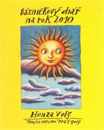 Básničkový diář na rok 2010 - Volf Honza