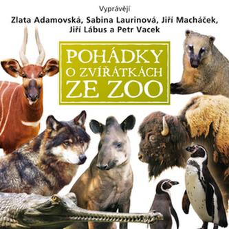 CD-Pohádky o zvířátkách ze zoo - Košlerová Eva