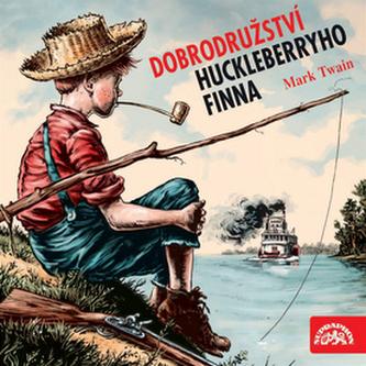 Dobrodružství Huckleberryho Finna - CD - Twain Mark