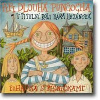 CD-Pipi Dlouhá punčocha - Lindgrenová Astrid