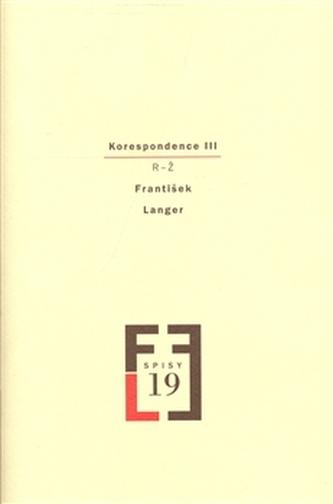 Korespondence III - Langer František