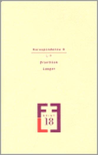 Korespondence II. - Langer František