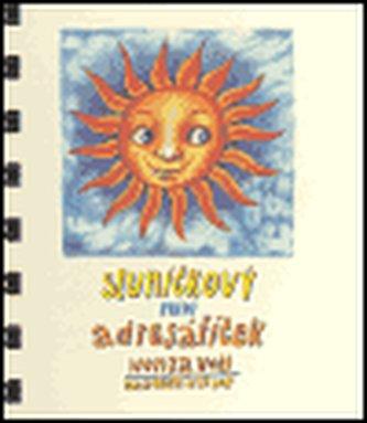 Sluníčkový miniadresáříček - Honza Volf