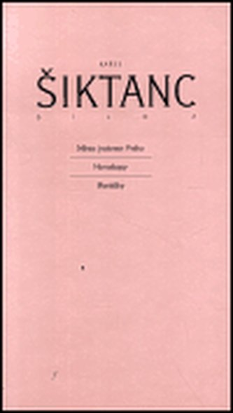 Dílo 2 - Karel Šiktanc