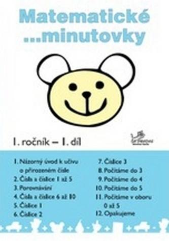 Matematické minutovky pro 1. ročník - 1. díl - Josef Molnár; Hana Mikulenková