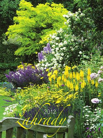 Zahrady - nástěnný kalendář 2012