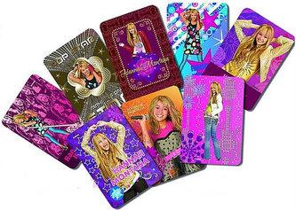 Samolepky Kartičky Hannah Montana