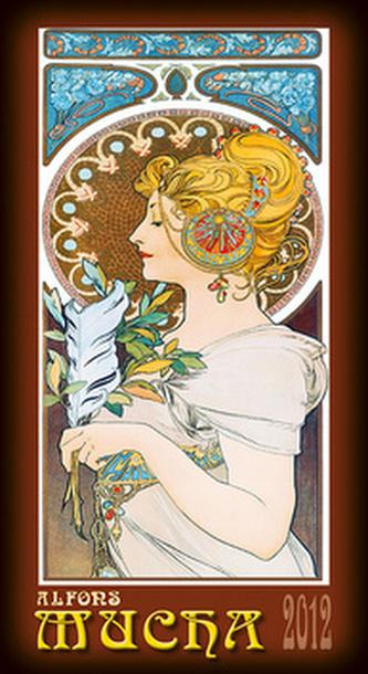 Alfons Mucha - nástěnný kalendář 2012