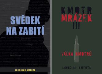 Balíček 2ks Svědek na zabití + Kmotr Mrázek III. Válka kmotrů - Jaroslav Kmenta
