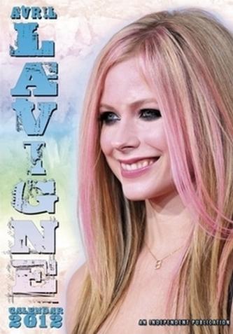 Avril Lavigne 2012 - nástěnný kalendář