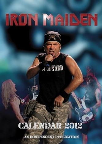 Iron Maiden 2012 - nástěnný kalendář