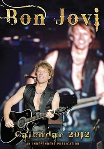 Bon Jovi 2012 - nástěnný kalendář