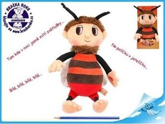 Včelí medvídek - Brumda 29cm plyšový s písničkami