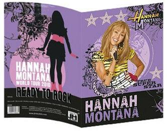 Hannah Montana - Obal na sešit A5
