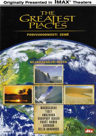 Nejkrásnější místa - Podivuhodnosti Země - DVD