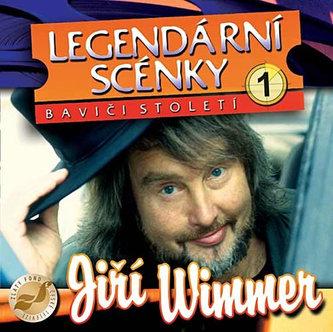 Legendární scénky - CD - Wimmer Jiří