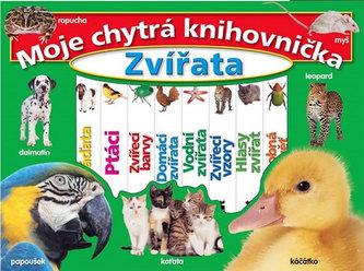 Moje chytrá knihovnička - Zvířata - Obsahuje 8 knížek s tvrdými listy
