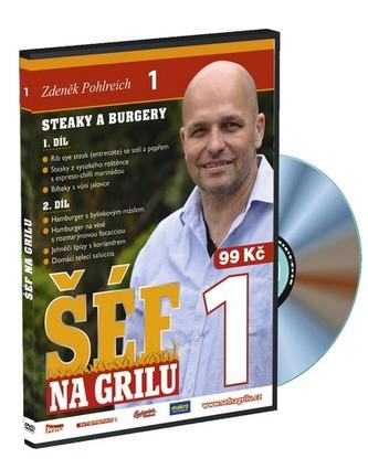 Šéf na grilu 1 - DVD - Pohlreich Zdeněk