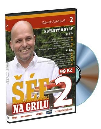 Šéf na grilu 2 - DVD - Pohlreich Zdeněk