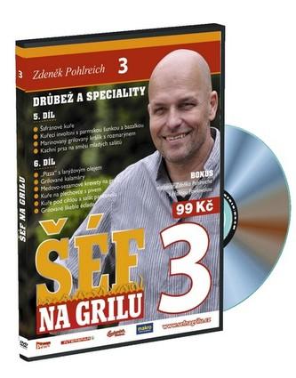Šéf na grilu 3 - DVD - Pohlreich Zdeněk