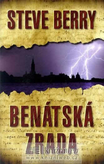 Benátská zrada - 2. vydání - Berry Steve