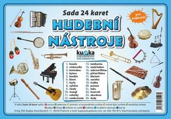 Hudební nástroje - Sada 24 karet - Kupka Petr a kolektiv