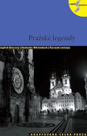 Pražské legendy - Adaptovaná česká próza + CD (AJ,NJ,RJ) - Holá Lída