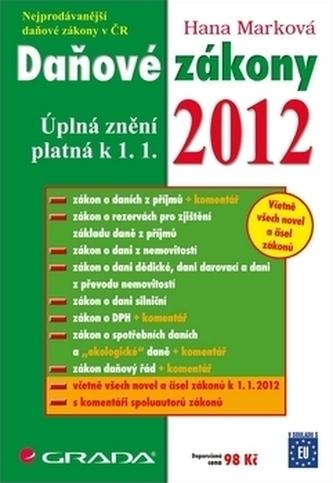 Daňové zákony 2012 - Marková Hana