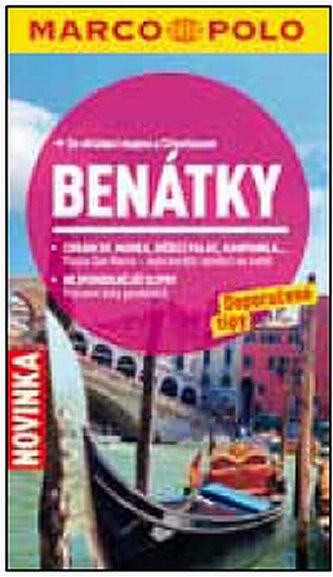 Benátky - Průvodce se skládací mapou