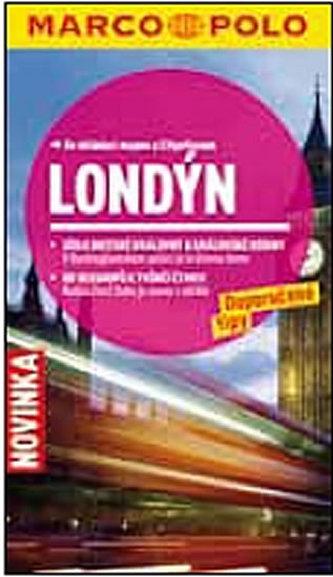 Londýn - Průvodce se skládací mapou