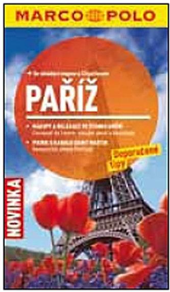 Paříž - Průvodce se skládací mapou