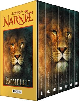 Letopisy Narnie 1-7.díl Komplet krabice - 3. vydání - Lewis C. S.