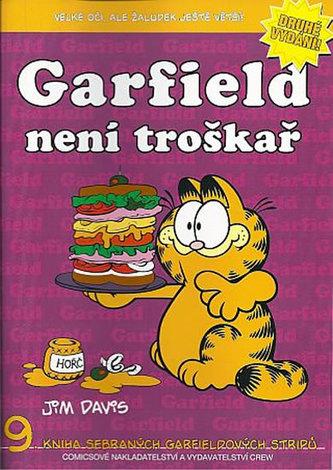 Garfield není troškař (č.9) - 2. vydání - Davis Jim
