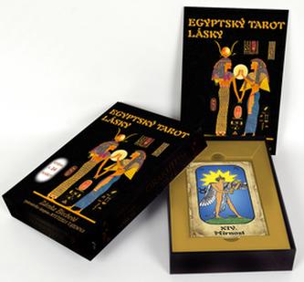 Egyptský tarot lásky (kniha + 24 karet) - Blechová Zdenka