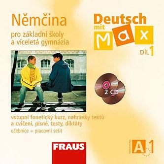 Deutsch mit Max A1/díl 1 - CD /2ks/