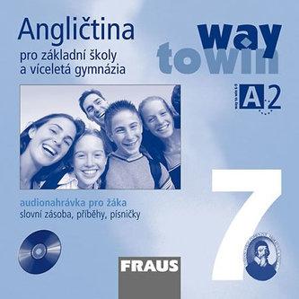 Angličtina 7 pro ZŠ a víceletá gymnázia Way to Win - CD /1ks/ pro žáka