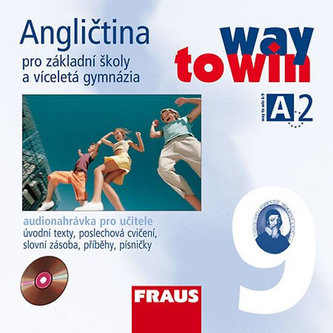 Angličtina 9 pro ZŠ a víceletá gymnázia Way to Win - CD /2 ks/ pro učitele