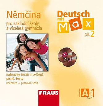 Deutsch mit Max A1/díl 2 - CD /2ks/