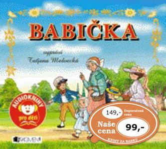 Babička – Audiokniha pro děti - mp3 - Němcová Božena