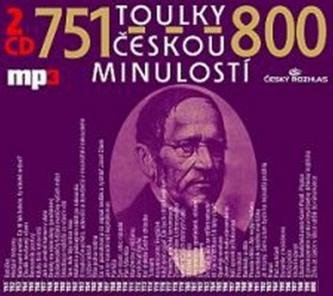Toulky českou minulostí 751-800 - 2CD/mp3