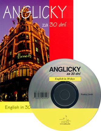Anglicky za 30 dní + CD - Pankaj Joshi; Pavlína Šamalíková