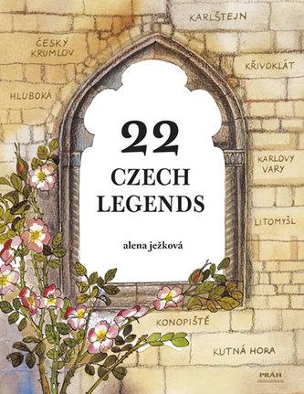 22 Czech Legends / 22 českých legend (anglicky) - Alena Ježková