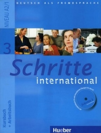 Schritte International 3 Paket Kursbuch + Arbeitsbuch mit Audio-CD + Gloss.