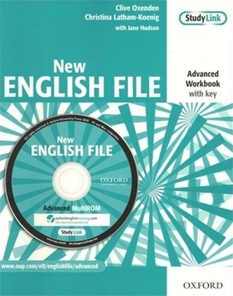 New English File Advanced Workbook with key - Clive Oxenden