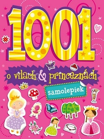 1001 samolepiek o vílach a princeznách