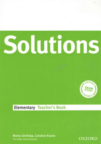 Maturita Solutions Elementary Techer's Book