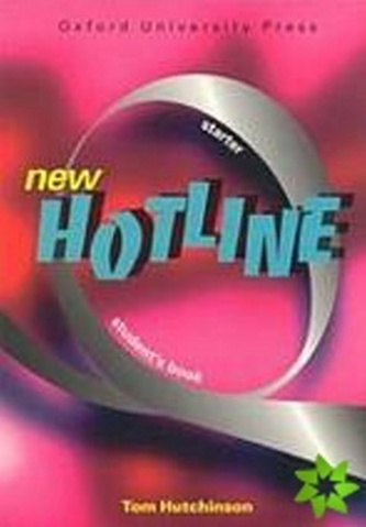 New hotline Starter Student´s book - Tom Hutchinson