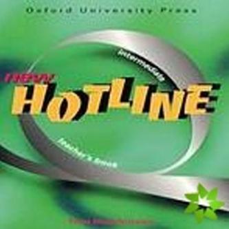 New hotline intermediate Teacher´s book - Tom Hutchinson