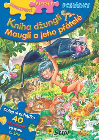 Samolepkové puzzle Kniha džunglí